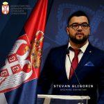 Stevan Gligorin, prvo Romano Drzavno sekretari ki Srbija