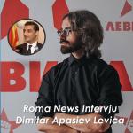 Roma News Intervju Dimitar Apasiev tari politikani partija LEVICA